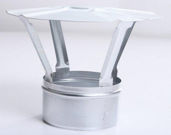 Regenhaube Regenhut Einsteck für Ofenrohre Kamin verzinkt 180