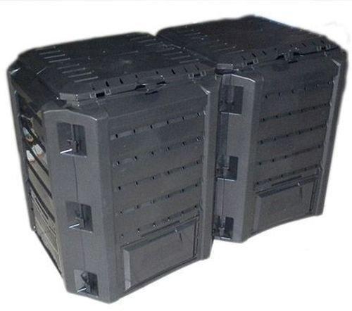 Komposter Kompostbehälter Thermokomposter 800 L schwarz