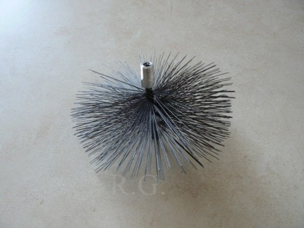 Schornsteinbesen Kaminbesen aus Stahl 13cm