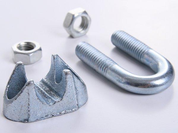 10x Drahtseilklemmen Seilklemmen für Stahlseil 11 mm
