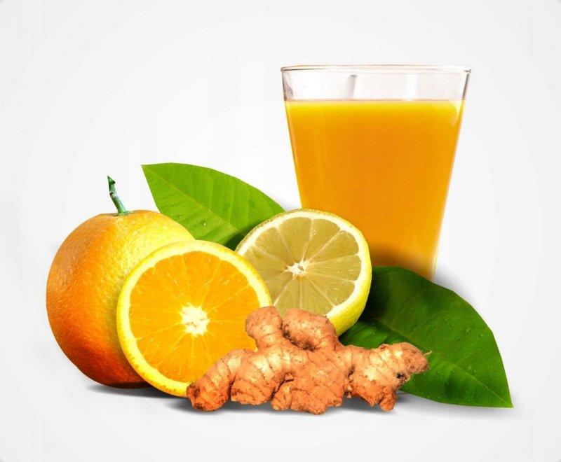 PAKIET NA ODPORNOŚĆ cytryna - imbir - pomarańcz 17L