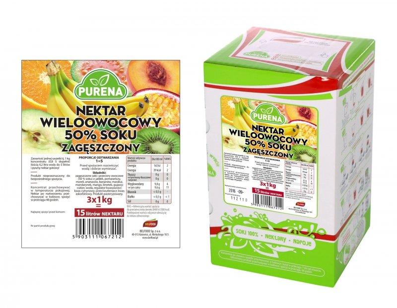 Nektar multiwitamina 50% zagęszczony 15l/3kg