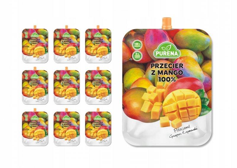 Przecier z mango Alphonso 100% PURENA 350g x 10szt