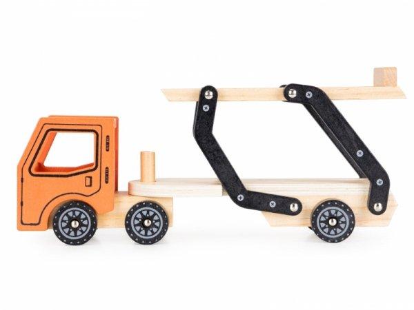Holzspielzeug LKW LKW Abschleppwagen 4 Autos