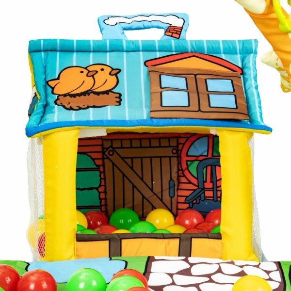 Lernspielzeug für Babys, ein Haus mit 30 Bällen