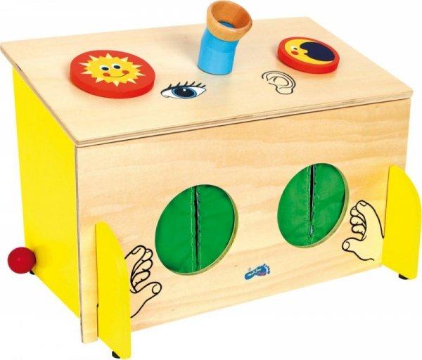 Tastspiel FÜHLBOX Tastbox Fühlkasten