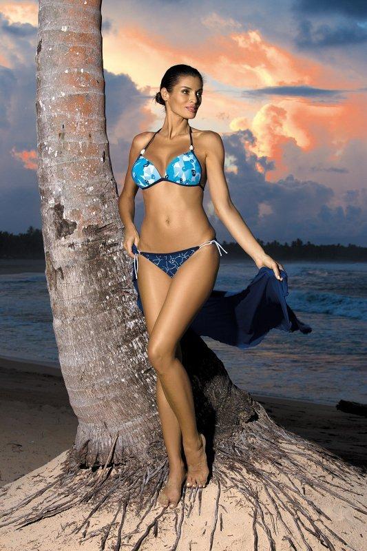Kostium kąpielowy Anette Blu Scuro M-269 Granatowy (167)