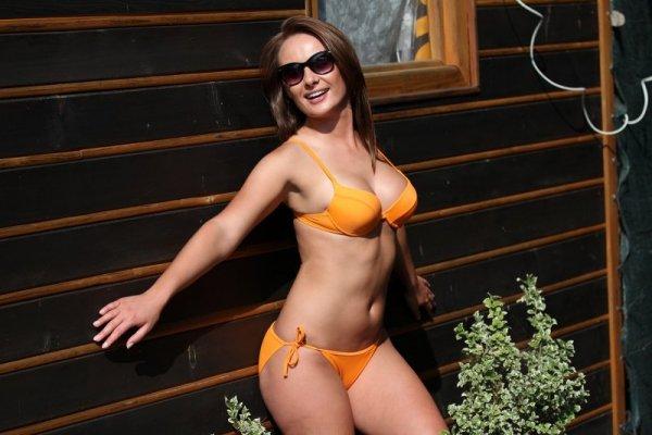 Kostium kąpielowy Cathy M-048 Bright Orange (Jasnopomarańczowy)