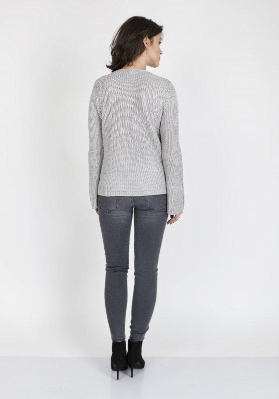 Sweter Kylie SWE 117 Szary