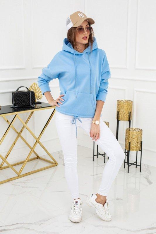 Bluza z kapturem Noemi WJ8890 Baby Blue