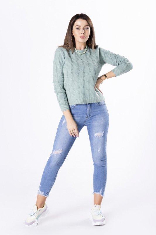 Sweterek Ramona M83049 Mint