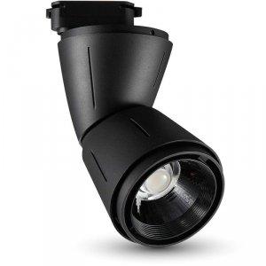 Oprawa Track Light LED V-TAC 45W Czarna VT-4546 6000K 3250lm