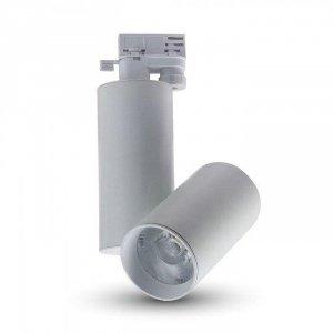 Oprawa Track Light LED V-TAC 15W 24st Biały VT-4615 6400K 1350lm 5 Lat Gwarancji