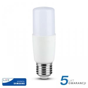 Żarówka LED V-TAC SAMSUNG CHIP 8W E27 T37 VT-237 3000K 660lm 5 Lat Gwarancji