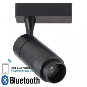 Oprawa LED V-TAC 15W Track Light Czarna Bluetooth Control 3w1 16-53st VT-7715 2800K 650lm