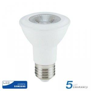 Żarówka LED V-TAC SAMSUNG CHIP 7W E27 PAR20 VT-220 3000K 495lm 5 Lat Gwarancji