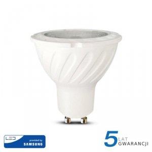 Żarówka LED V-TAC SAMSUNG CHIP 7W GU10 38st VT-277 4000K 480lm 5 Lat Gwarancji