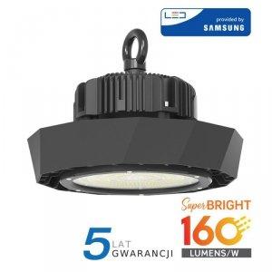 Oprawa V-TAC LED High Bay SAMSUNG CHIP 100W 160lm/W 120st VT-9-113 4000K 16000lm 5 Lat Gwarancji