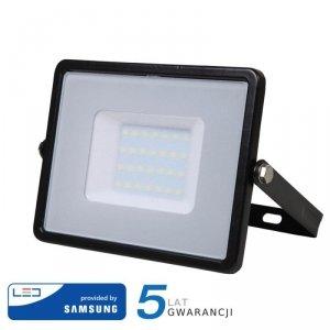 Projektor LED V-TAC 30W SAMSUNG CHIP Czarny VT-30 6400K 2400lm 5 Lat Gwarancji