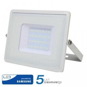 Projektor LED V-TAC 30W SAMSUNG CHIP Biały VT-30 4000K 2400lm 5 Lat Gwarancji