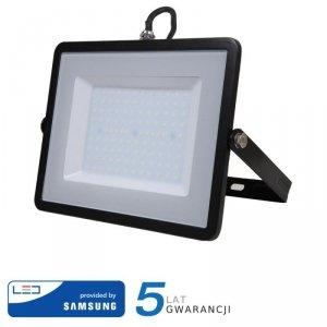 Projektor LED V-TAC 100W SAMSUNG CHIP Czarny VT-100 3000K 8000lm 5 Lat Gwarancji