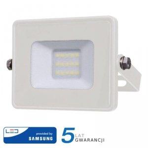 Projektor LED V-TAC 10W SAMSUNG CHIP Biały VT-10 6400K 800lm 5 Lat Gwarancji