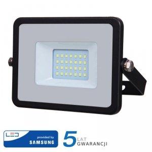 Projektor LED V-TAC 20W SAMSUNG CHIP Czarny VT-20 4000K 1600lm 5 Lat Gwarancji