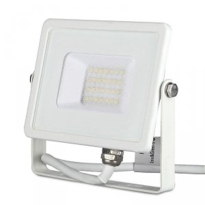 Projektor LED V-TAC 20W SAMSUNG CHIP Biały VT-20 6400K 1600lm 5 Lat Gwarancji