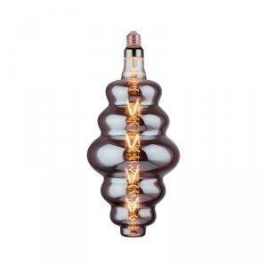 Żarówka LED V-TAC 8W E27 S180 Filament Szara Dymiona Ściemnialna VT-2169 2200K 240lm