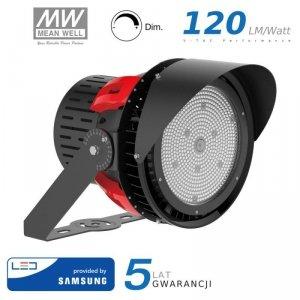 Projektor LED V-TAC 500W SAMSUNG CHIP Sports Light 110st Ściemnialny Zas. Mean Well VT-501D 5000K 67500lm 5 Lat Gwarancji