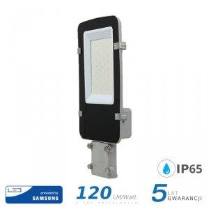 Oprawa Uliczna LED V-TAC SAMSUNG CHIP A++ 30W Szara VT-30ST 4000K 3600lm 5 Lat Gwarancji