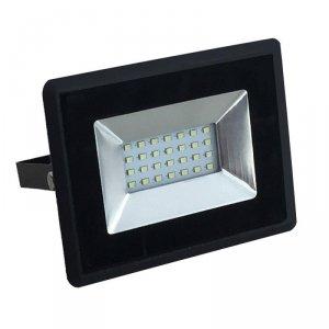 Projektor LED V-TAC 20W SMD E-Series Czarny VT-4021 6500K 1700lm