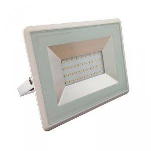 Projektor LED V-TAC 30W SMD E-Series Biały VT-4031 4000K 2550lm