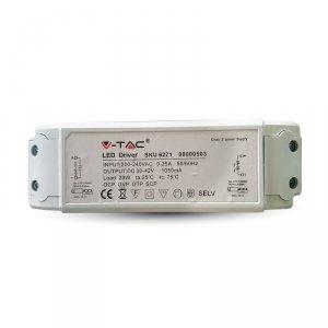 Zasilacz do Paneli LED 29W Flicker Free Zasilacz A++ V-TAC 5 Lat Gwarancji