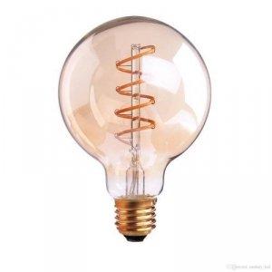 Żarówka LED V-TAC 6W Filament E27 G125 Bursztyn VT-2126 2200K 480lm