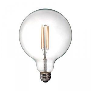 Żarówka LED V-TAC 12.5W Filament E27 G125 Przeźroczysta VT-2143 3000K 1550lm