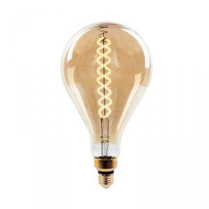 Żarówka LED V-TAC 8W Filament E27 A165 Ściemnialna VT-2138D 2000K 500lm