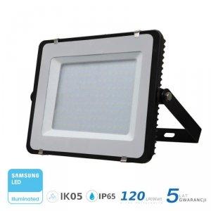 Projektor LED V-TAC 150W SAMSUNG CHIP SLIM Czarny 120lm/W VT-156 4000K 18000lm 5 Lat Gwarancji