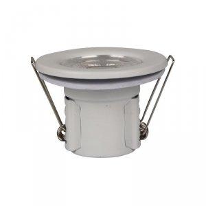 Oczko LED SAMSUNG CHIP 5W Hermetyczne IP65 Ściemnialne Białe VT-885 4000K 500lm 5 Lat Gwarancji