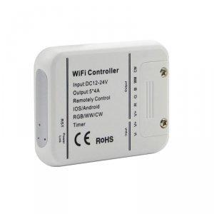 Kontroler Taśm RGB/WW/CW WiFi V-TAC Kompatybilność Amazon Alexa, Google Home, Nest VT-5009