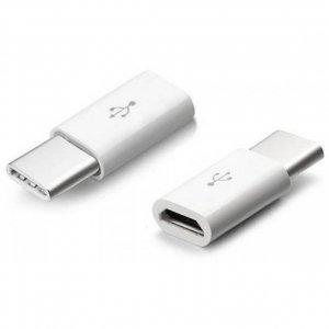 Adaptor Przejściówka Micro USB do Type C Biały V-TAC VT-5149