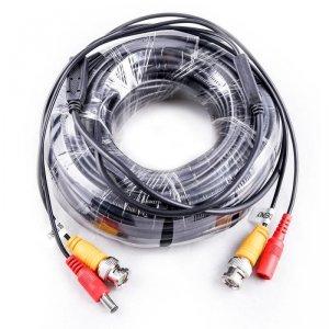 Przewód do systemów CCT DVR V-TAC 18 metrów Video i Zasilanie VT-5128