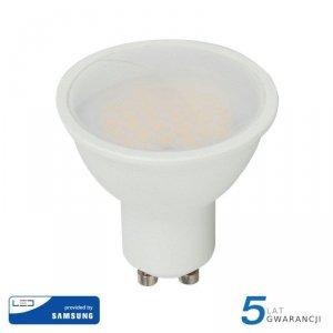 Żarówka LED V-TAC SAMSUNG CHIP GU10 10W 110st VT-271 3000K 1000lm 5 Lat Gwarancji