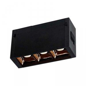 Oprawa Szynosystemu Magnetycznego V-TAC 3W 24V LED Czarna CRI90+ UGR19 VT-4143 3000K 240lm 3 Lata Gwarancji