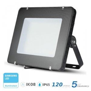 Projektor LED V-TAC 400W SAMSUNG CHIP Czarny 120lm/W 100st VT-405 6400K 48000lm 5 Lat Gwarancji