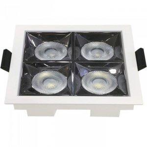 Oprawa V-TAC Downlight SAMSUNG CHIP 16W UGR19 CRI90+ 36st VT-2-16 5700K 1280lm 5 Lat Gwarancji