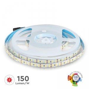 Taśma LED V-TAC SMD5730 600LED High Lumen CRI95+ IP20 18W/m VT-5730 3000K 3000lm