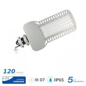 Oprawa Uliczna LED V-TAC SAMSUNG CHIP 150W Soczewki 110st 120lm/W VT-154ST 4000K 18000lm 5 Lat Gwarancji