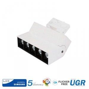 Oprawa LED V-TAC 12W Track Light SAMSUNG CHIP CRI90+ Biała VT-416 4000K 960lm 5 Lat Gwarancji