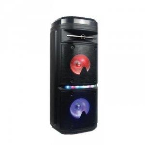 Głośnik przenośny V-TAC 30W Ładowanie Mikrofon USB FM Pilot VT-6207-2